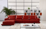 New Design Living Room Furniture Modern Corner Leather Sofa (UL-NS300)