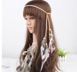 2017 Bohemian Feather Headband Fashion Festival Hippie Headdress