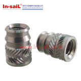 China Fastener Supplier Stainless Steel Knurled Insert Nut for STB