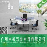 Best Price Modern 120 Degree Office Cross Desk with Steel Foot