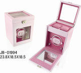 Novel Wooden Box Watch Case Automatic Watch Winder Box for 3 Watches