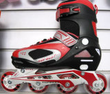 Traditional 4 Wheels Skates, with PVC Upper PU Wheel