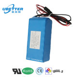 18650 12V 8400mAh Lithium Battery Pack for Solar Light Battery