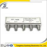 Factory Price Indoor 4 Way 5-1000MHz Home TV CATV Splitter