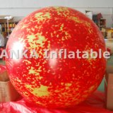Inflatable Planet Balloon Globe Sun Pattern
