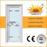 Cheap Aluminum Alloy Interior Full Glass Bathroom Door (SC-AAD044)
