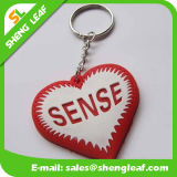 Custom-Made Logo Silicone Rubber Keychains Product (SLF-KC036)