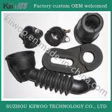 Customized Industrial Use Molded Flexible Silicone Rubber Bellows