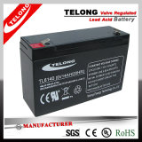 6V14ah High Quality Lead Acid Battery for Electric Toy Cars