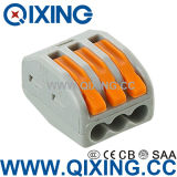 3 Gang Wago Type Wire End Terminal Connector