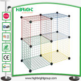 Stacking Wire Cube Set Closet Organizer Bins