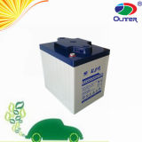 6V210ah Sealed Maintenance Free Car Battery with 15years Life