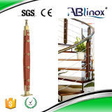 Indoor Staircase Railing/Handrail for Modern Home Glass Staircase (DD097)