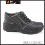 Industrial Building Safety Shoe with Steel Toe Cap & Midsole (SN1628)