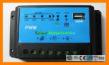 PWM 10A 12V DC Output Port Solar Controller with USB