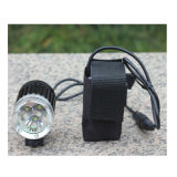 High Quality Battery Powered Bicycle Headlights with 30watt