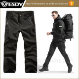 Black Men's Outdoor Hunting Camping Breathable Waterproof Tactical Trousers