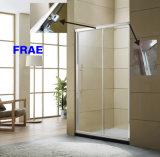 One Fixed One Sliding Shower Door Screen Bathroom Door Sanitary Ware Bathroom Furniture