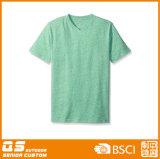 Lady′s Melange Short Sleeve T-Shirt