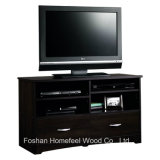 Classy Living Room Furniture Wooden TV Stand with 2 Drawers