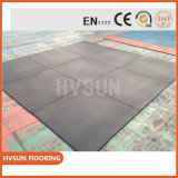 Economical Rubber Flooring Solution Rubber Anti Slip Mat Weght Area Shockproof and Fall Heigh Protect