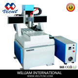 Mini CNC Router for Marble/Aluminum/Copper Carving with Rotary Device (VCT-4540R)