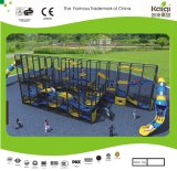 Kids Large Hide and Seek Multi Level Playground System with Slides (KQ50092B)