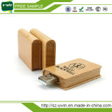 OEM 4GB Wooden Book USB Flash Disk