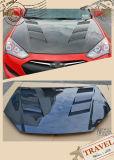 Carbon Fiber Hood Bonnet for Hyunder Genesis Rohens Vis Style
