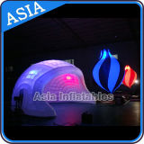 2015 New Design Colorful Customized Inflatable Lighting Wall for Decoration
