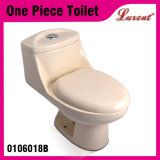 Ceramic Bathroom Siphonic S-Trap White Colour One Piece Toilet