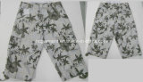 Casual Leisure Printing Board Cargo Jogger Washing Pants for Man
