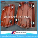 Low Price Ductile Iron Foundry Casting Pallet Car