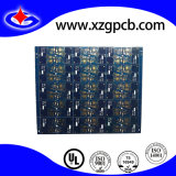 Multilayer PCB with Gold Plating and Blue Soldermask