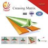 Creasing Matrix-Indentation Loading Speed Model