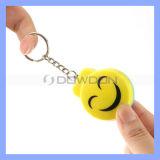 Factory Price 23mAh 12V 125dB Aloud Emergency Key Ring Personal Alarm for Lady Kids