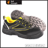Industrial Leather Safety Shoes with Steel Toecap (Sn5384)