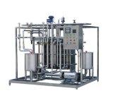 Milk Juice Pasteurizing Uht Sterilizing Machine/Uht Milk Production Line Small Milk Processing Plant