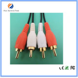 3xrca Y Splitter AV Adapter Audio & Video Cable 1.8m