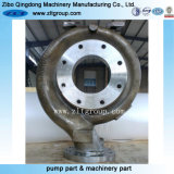 Carbon Steel Sand Casting Centrifugal Pump Body in China