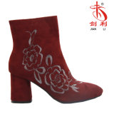 Classic Style Sexy Ankle Boots with Embroidered (AB626)