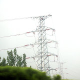 110kv Angle Corner Power Transmission Steel Tower