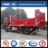 FAW 6*4 Dump Truck with Cimc Huajun Lightweight Upper Part