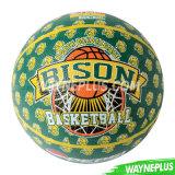 Rubber Orange Basketball Size 7