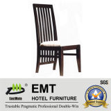 Creative Backrest Design Wooden Hotel Chair (EMT-HC82)