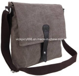 Quality Men Canvas Leisure Single Shoulder Casual Travelling Bag (CY5835)