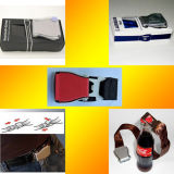 Airline Airplane Aircraft Buckle Fashion Belt, Fashion Seat Belt