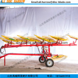 New Type Trailed Finger Wheel Rake for Tractor 2017 Hot Sale
