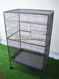 Large Bird Aviary Bird Cage Metal Parrot Birds House Birdcages Stable Steel Pet Cage