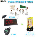 Wireless Waiter Call Button System Holder Pager for Restaurant